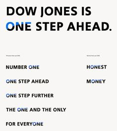 New logo and identity for Dow Jones by STUDIO NEWWORK #identity #design #graphic #branding