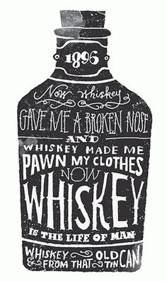 FFFFOUND! | CXXVI : Jon Contino #type #logo #whiskey #rusitc #hand rendered