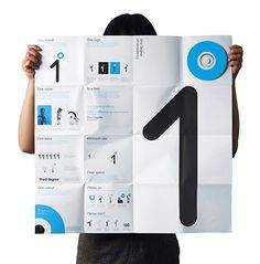FFFFOUND! | One Degree on the Behance Network #grid #identity
