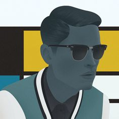 Jack Hughes Illustration #color
