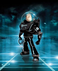 Tron - Buzz enters the Grid by ~iamclu
