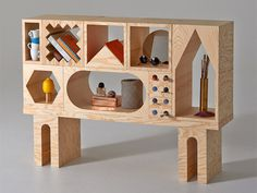 ROOM Collection Furniture System by Erik Olovsson & Kyuhyung Cho #plywood #furniture