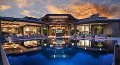 Exquisite Arizona Desert Mountain Retreat With Comforting Views #lifestyle #architecture #retreat #modern