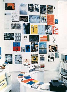 Peter Zimmermann – Plakatwand, 1994, Kunstverein Heidelberg (Installationsansicht)
