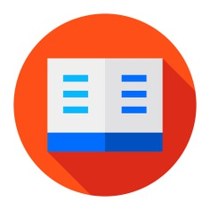 See more icon inspiration related to book, open book, study, literature, education, reading, books and library on Flaticon.