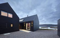 Skye Island house inspired by Scottish farm barns - HomeWorldDesign (9) #architecture #scotland
