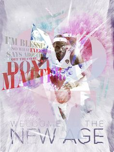 G.O.A.T / Welcome to the New Age #quote #design #lebron #digital #james #art #basketball #typography