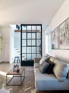 The Design Chaser: Windows + Doors | Steel Framed #interior #sofa #design #decor #deco #decoration