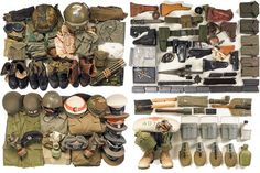 a time to get: Collection Collected #helmet #gear #knife #military