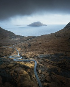 Faroe Islands From Above: Drone Photography by Thrainn Kolbeinsson