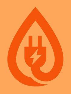 FFFFOUND! | Draplin Design Co.: Fuel Economy Communications #logo