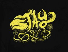 Stay Gold #diamond #cover #skate #gold #stay #type #typography