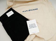 JM packaging #bag #tote #days #off #packaging #denim #blue #no #jeans