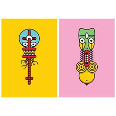 Monster Totems Vol:1 #illustration #illustrations