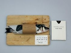 THEHANSENFAMILY: THE REAL CATCH #brand #fish #stationary