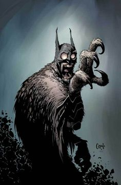 Greg Capullo - Batman #greg #owl #capullo #batman #illustration #art #comics