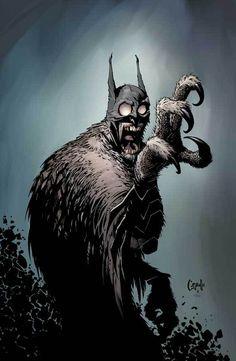Greg Capullo - Batman #greg #owl #capullo #batman #illustration #art #comics