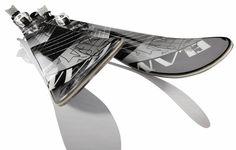 Elan Puzzle TBT ski | vbg.si - creative design studio #design #snow #ski