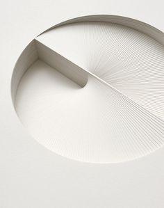 Bianca Chang | PICDIT #design #art #white #paper #cut