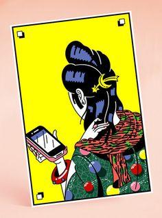 studio alte #illustration #phone