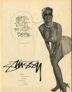 Stussy Ad #them #stussy #thangs