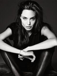 Angelina Jolie by Hedi Slimane
