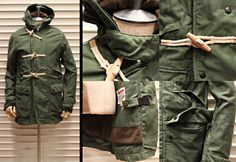 27/115 #jacket #military #green