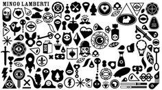 Mingo Lamberti #icons #black #lamberti #illustration #mingo