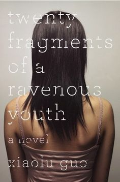 The Book Cover Archive: Twenty Fragments of a Ravenous Youth, design by Gabriele Wilson #cover #book