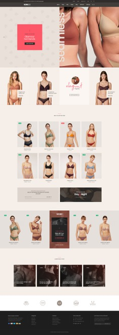 #Hongo #WooCommerce #WordPress Theme for #Lingerie Store by #ThemeZaa