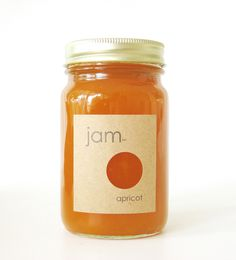 Label design #packaging #jar #jam #label