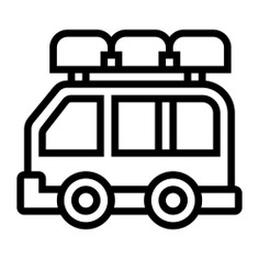 See more icon inspiration related to van, car, travel, transport, transportation, automobile, holidays and vehicle on Flaticon.