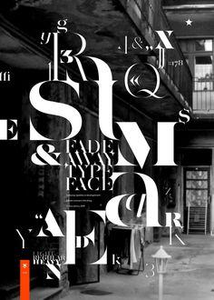 Aaron Jancso Typographic Posters II #font #aaron #jancso #poster #typography
