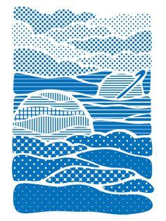 Summer Solstice Art Print by Joe Van Wetering | Society6 #pattern