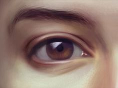 . #eye #illustration #paintin #digital