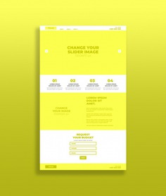 Yellow landing page mockup Premium Psd. See more inspiration related to Banner, Mockup, Business, Technology, Computer, Template, Social media, Marketing, Web, Website, Internet, Social, Yellow, Mock up, Landing page, Web banner, Profile, Media, Website template, Page, Site, Up, Navigation, Interface, Web site, Homepage, Landing, Destination and Mock on Freepik.