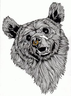 TheBears No.1 - Luke Dixon Artist #duke #illustration #lixon