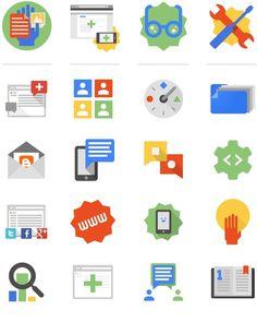 bloggericons 730 #flat #icons