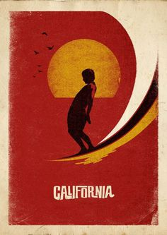 California Surf #surf #cali #poster