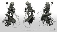 Dystopic Original Base #3d