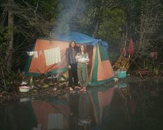 Rainbow family member | Flickr - Photo Sharing! #tent #photography #gypsy