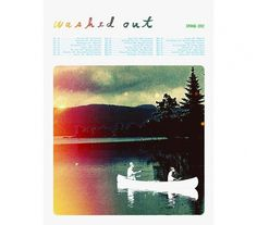 Washed Out (Spring 2012) - SCOTT CAMPBELL #scott #screenprint #campbell #poster