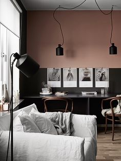 The Design Chaser: Dark Walls in the Bedroom | x 3 #interior design #decoration #decor #deco