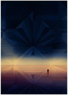 KILIAN ENG / DW DESIGN #kilian #eng #geometric #gradient