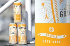 Beer, tasty packaging nuances #packaging #beer #branding
