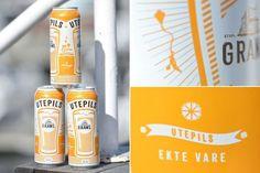 Beer, tasty packaging nuances
