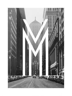 Metropolis on the Behance Network #city #metropolis #typography