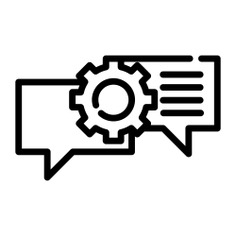 See more icon inspiration related to work, discussion, chat, message, speech bubble, messages, business and finance, chatting, communications and interface on Flaticon.
