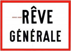 en Rêve général… | atelier ooblik #poste #poster