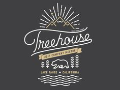 Treehouse Meetup Merch by Matt Spiel for Treehouse